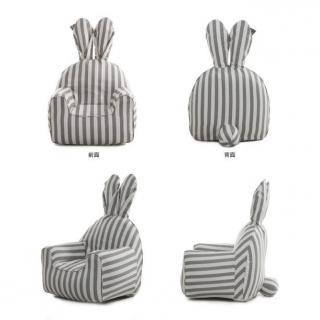 うさぎ型エアーソファー「Rabito Chair」 S/レッド_8