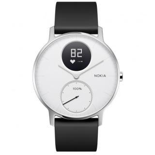 Nokia Steel HR (36mm) ホワイト【12月下旬】
