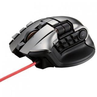 ゲーミングマウス DUX 2台同時操作対応マウス ブラック_1