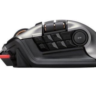 ゲーミングマウス DUX 2台同時操作対応マウス ブラック_2