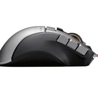 ゲーミングマウス DUX 2台同時操作対応マウス ブラック_3