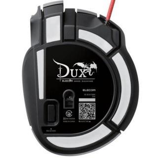 ゲーミングマウス DUX 2台同時操作対応マウス ブラック_4