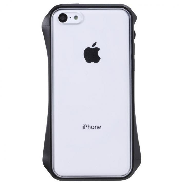 Cleave Aluminum Bumper AERIAL  iPhone5c Metemo Black_0