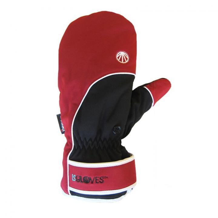 極寒対応スマホ手袋ISGloves 赤 Sサイズ_0