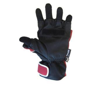 極寒対応スマホ手袋ISGloves 赤 Sサイズ_2