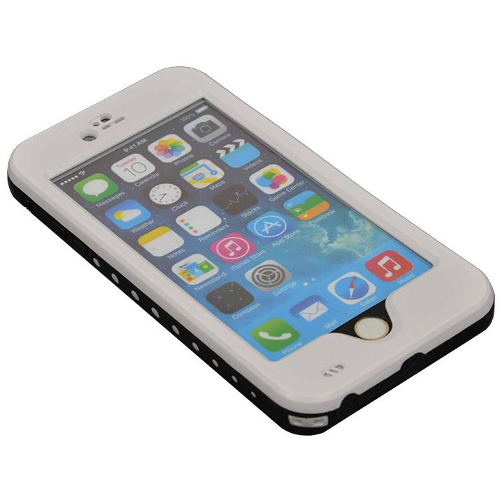 Touch ID対応 防水&耐衝撃ケース ホワイト iPhone 6 Plus