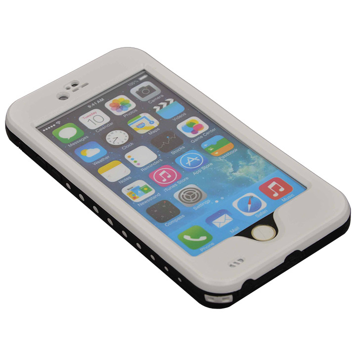 iPhone6 Plus ケース Touch ID対応 防水&耐衝撃ケース ホワイト iPhone 6 Plus_0