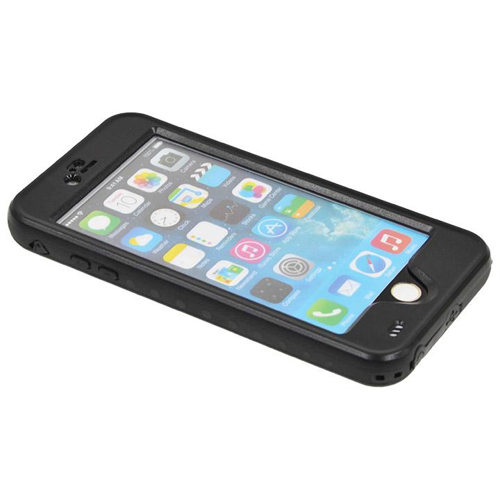 iPhone6 Plus ケース Touch ID対応 防水&耐衝撃ケース ブラック iPhone 6 Plus_0