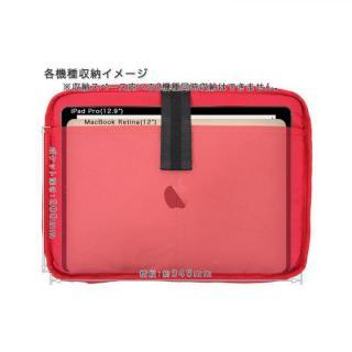 タブレットのための小型ショルダーバッグ ハリスツイード別注モデル_3