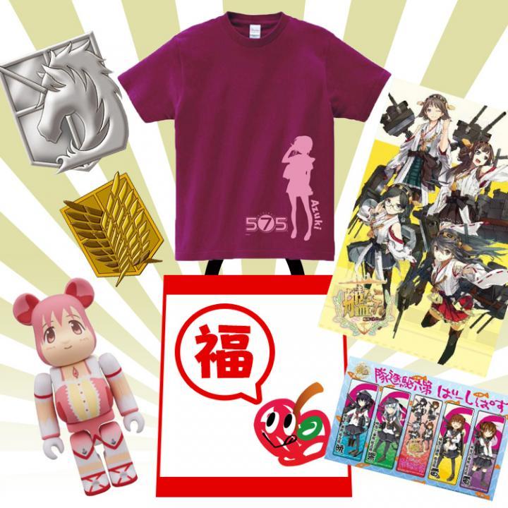 美少女福袋 575あずきTシャツ(M)  版