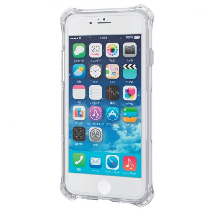 耐衝撃クリアケース ZEROSHOCK クリア インビジブル iPhone 6