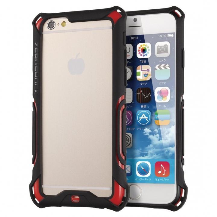 【iPhone6ケース】耐衝撃タフバンパー ZEROSHOCK レッド iPhone 6_0
