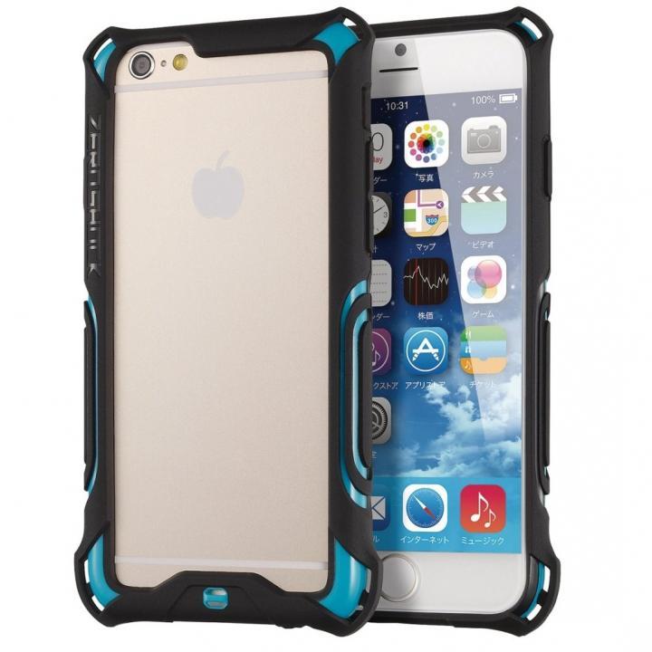 【iPhone6ケース】耐衝撃タフバンパー ZEROSHOCK ブルー iPhone 6_0