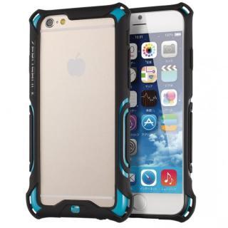 iPhone6 ケース 耐衝撃タフバンパー ZEROSHOCK ブルー iPhone 6