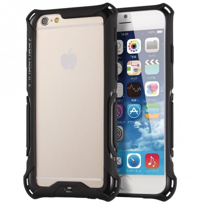 iPhone6 ケース 耐衝撃タフバンパー ZEROSHOCK ブラック iPhone 6_0