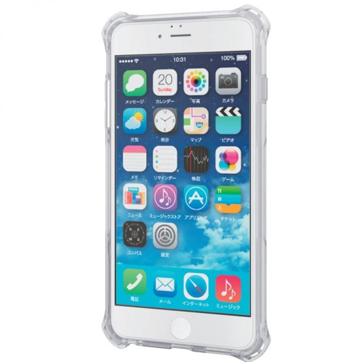 耐衝撃クリアケース ZEROSHOCK クリア インビジブル iPhone 6 Plus