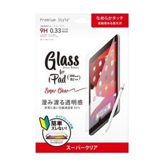 液晶保護ガラス スーパークリア iPad 10.2インチ【4月中旬】