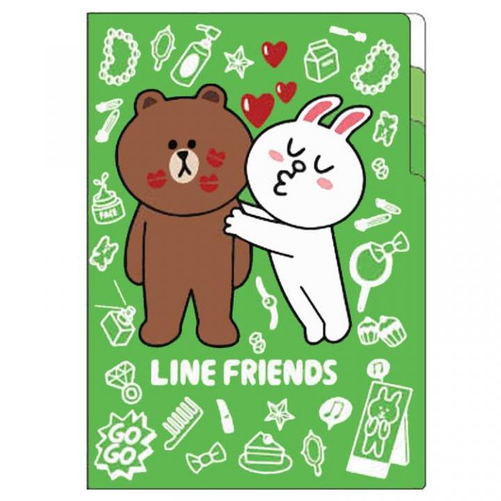 LINE 3ポケットクリアファイル_0
