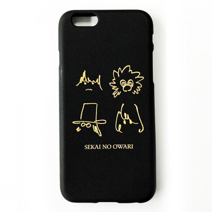 iPhone6 ケース SEKAI NO OWARI iPhone 6ケース ブラック_0