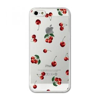 CollaBorn デザインハードケース juicy cherry iPhone SE/5s/5