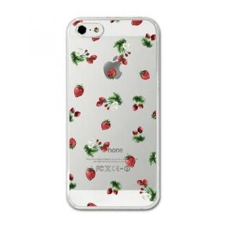 CollaBorn デザインハードケース juicy strawberry iPhone SE/5s/5