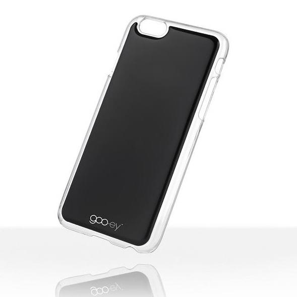 吸着型ハードケース goo.ey(グーイ) ブラック iPhone 6s/6
