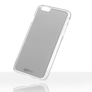 【iPhone6 Plusケース】吸着型ハードケース goo.ey(グーイ) グレー iPhone 6s Plus/6 Plus