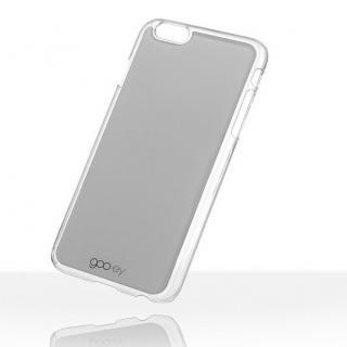 吸着型ハードケース goo.ey(グーイ) グレー iPhone 6s Plus/6 Plus