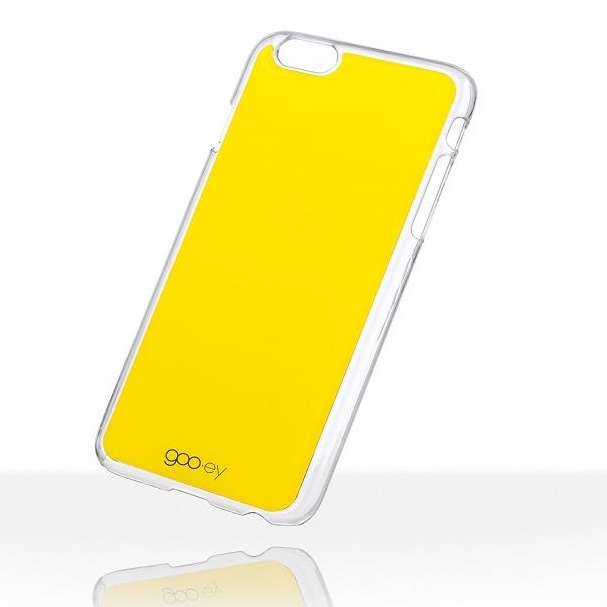 【iPhone6s Plusケース】吸着型ハードケース goo.ey(グーイ) イエロー iPhone 6s Plus/6 Plus_0