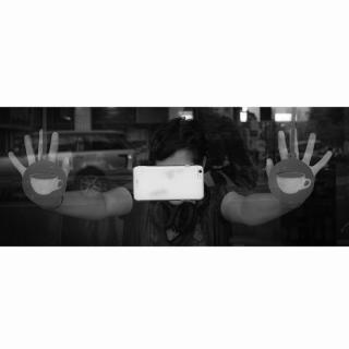 【iPhone6ケース】吸着型ハードケース goo.ey(グーイ) ブラック iPhone 6s/6_6