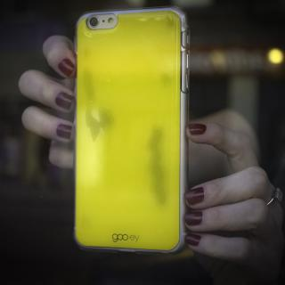 【iPhone6s Plusケース】吸着型ハードケース goo.ey(グーイ) イエロー iPhone 6s Plus/6 Plus_1