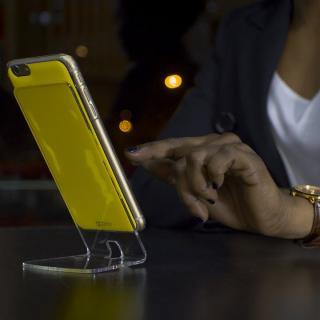 【iPhone6 Plusケース】吸着型ハードケース goo.ey(グーイ) クリア iPhone 6s Plus/6 Plus_2