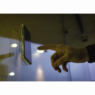 【iPhone6ケース】吸着型ハードケース goo.ey(グーイ) グレー iPhone 6s/6_4