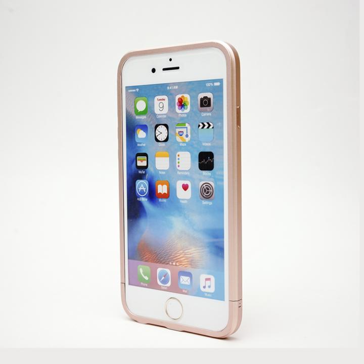 iPhone6s/6 ケース アルミバンパー GRAVITY レッドアラート ローズゴールド iPhone 6s/6_0