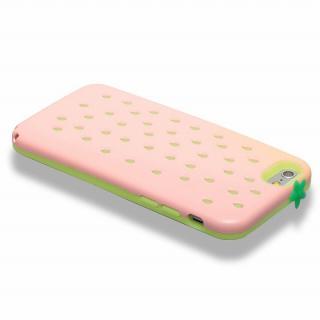 【iPhone6ケース】磁気遮断カード付属 Poppin' Strawberry ピンク iPhone 6_3