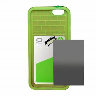 【iPhone6ケース】磁気遮断カード付属 Poppin' Strawberry ピンク iPhone 6_4