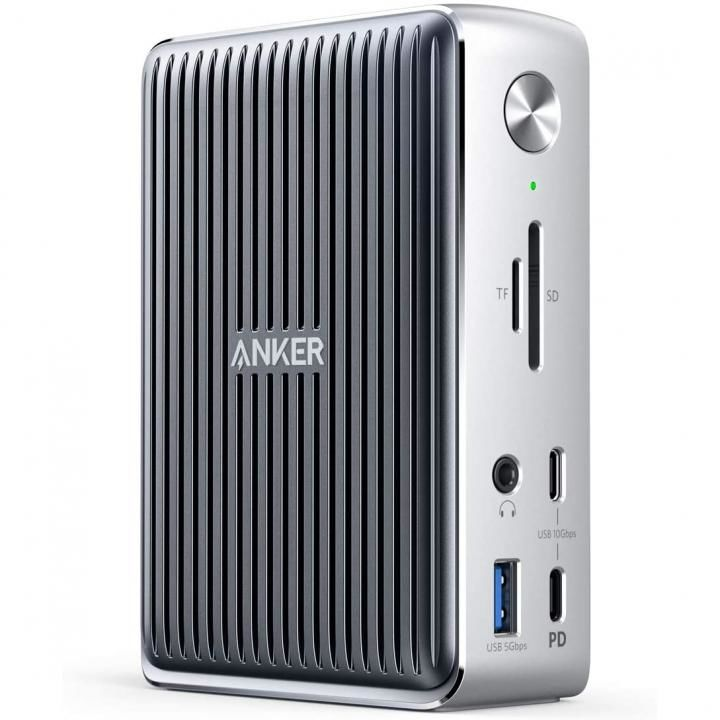 Anker PowerExpand Elite 13-in-1 Thunderbolt 3 Dock シルバー_0