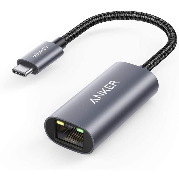 Anker PowerExpand USB-C & イーサネットアダプタ グレー_0