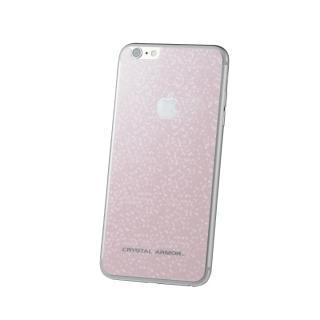 【在庫限り】クリスタルアーマー バックプロテクター ブリリアントピンク  iPhone 6s Plus/6 Plus