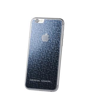 クリスタルアーマー バックプロテクター ブリリアントブラック for iPhone 6
