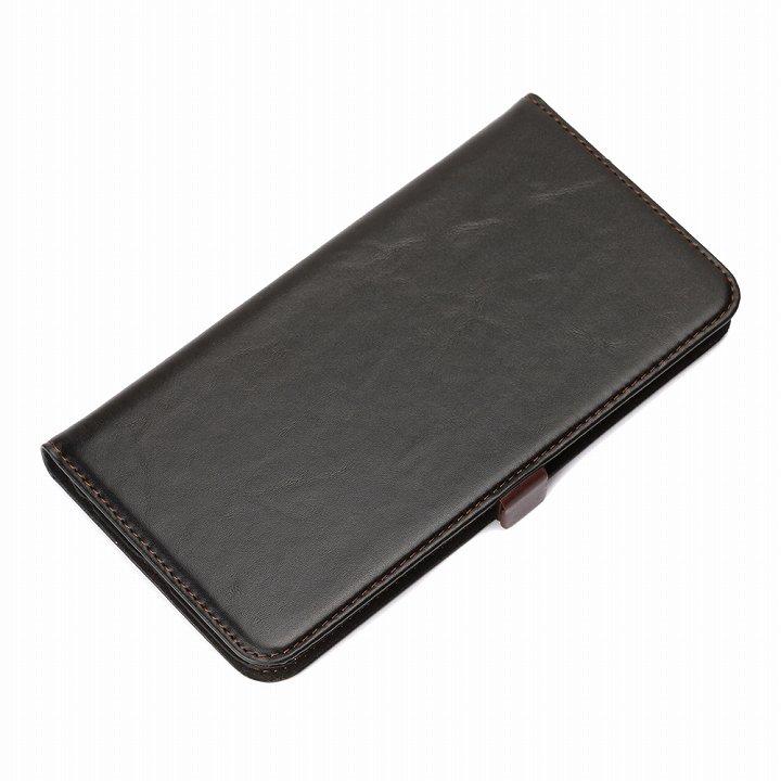 iPhone6 Plus ケース Premium Style 手帳型ケース ブラック iPhone 6 Plus_0