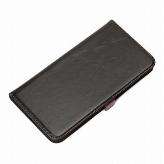 Premium Style 手帳型ケース ブラック iPhone 6 Plus