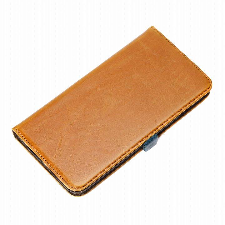 Premium Style 手帳型ケース キャメル iPhone 6s Plus/6 Plus