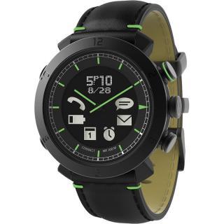 [2017夏フェス特価]スマートフォン連動腕時計 COGITO CLASSIC レザー ブラック