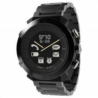 スマートフォン連動腕時計 COGITO CLASSIC メタルブラック