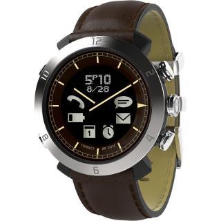 スマートフォン連動腕時計 COGITO CLASSIC レザー ブラウン