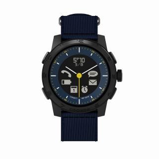 スマートフォン連動腕時計 COOKOO2 ブルー
