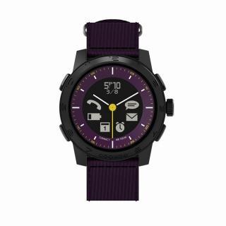 [新春初売りセール]スマートフォン連動腕時計 COOKOO2 パープル