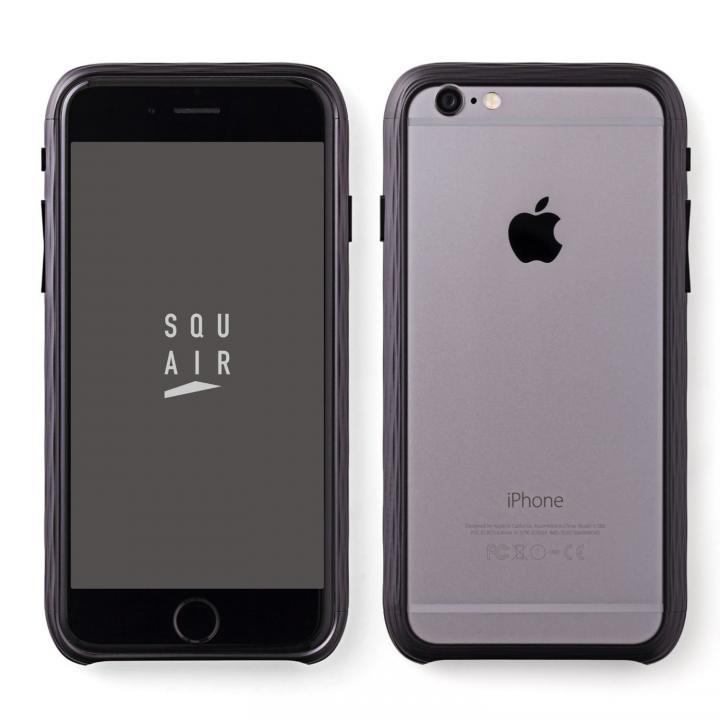 【iPhone6s Plusケース】超々ジュラルミンSQUAIR The Dimple ブラック iPhone 6s Plus_0