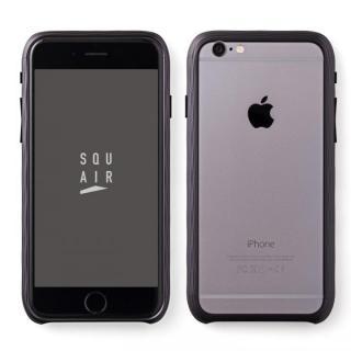 【iPhone6s Plusケース】超々ジュラルミンSQUAIR The Dimple ブラック iPhone 6s Plus